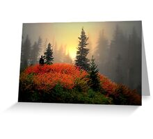 The Reds Are Here  ~ Fall Colors ~ Greeting Card