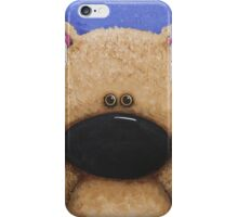 Teddy Bear in Blue iPhone Case/Skin