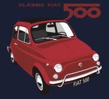 Classic Fiat 500L red T-Shirt