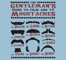 The Gentleman's Guide To Film & TV Moustaches Kids Clothes