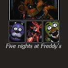 Five nights at Freddy's by xSelenaRussellx