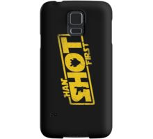 Han Shot First Samsung Galaxy Case/Skin