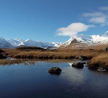 Glencoe in Winter by Maria Gaellman