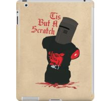 Black Knight - Tis But A Scratch iPad Case/Skin