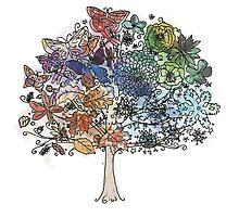 Seasonal Tree by pulmonaryfern