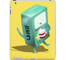 Oh BMO, how'd you get so pregnant? iPad Case/Skin