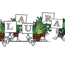 Plant Poses - Laura by havpencil