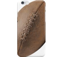 Brown Pigskin Football iPhone Case/Skin