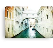 Bridge of Sighs - Venice Metal Print