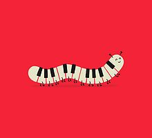 Caterpiano by Jorge Lopez