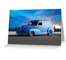 1947 Chevrolet Sedan Delivery  Greeting Card