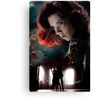 Red In My Ledger Canvas Print