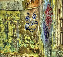 Face In The Corner by Dave Godden