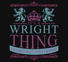 It's a Wright Thing by RooDesign
