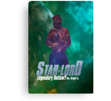 Starlord, Legendary Outlaw? Canvas Print
