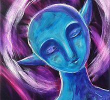 Teal Sleep by Katie Clark