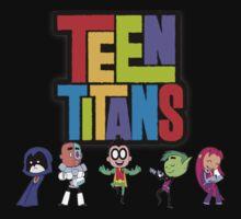 Teen Titans by MegaSpheal