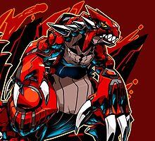 Groudon Pokemon by KumaGenis