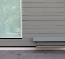 Grey Bench by Adam Wain