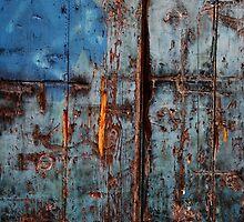 Damaged Door by Adam Wain