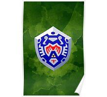 Hero's Shield Poster