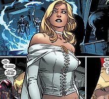 Emma Frost - Comic Styled  by pxat