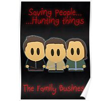 Supernatural - Family Business Poster