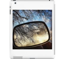 Reflecting on bare branches iPad Case/Skin