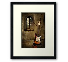 Headphones Please! Framed Print