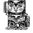 Strange Totem by Anna Oparina