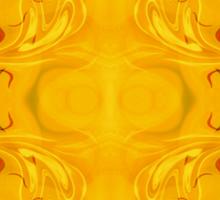Energy Bodies Abstract Healing Artwork  Sticker