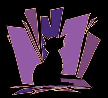Purple Meow by Brian Belanger