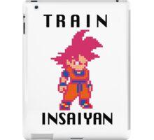 Train Insaiyan Super Saiyan God Goku (Black) iPad Case/Skin