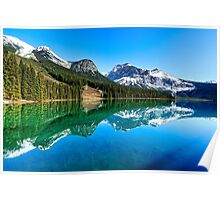 Lake of the Emerald City - British Columbia, Canada Poster