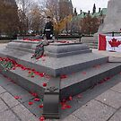 Canadian War Memorial in Ottawa, Canada by Josef Pittner