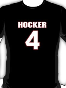 NFL Player Zach Hocker four 4 T-Shirt