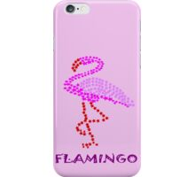 F for flamingo (5922 views) iPhone Case/Skin