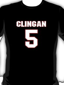 NFL Player Blake Clingan five 5 T-Shirt