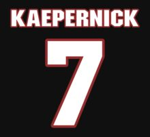 NFL Player Colin Kaepernick seven 7 by imsport