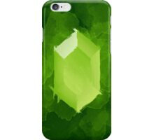 Green Rupee Paint iPhone Case/Skin