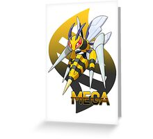 Mega Beedrill Greeting Card