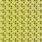 Antidots pattern - Green Brown by Aimelle