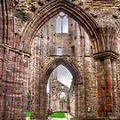 Tintern Abbey Interior View IV by Skye Ryan-Evans