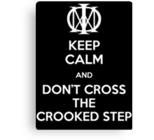 Dream Theater - Don't Cross The Crooked Step (White) Canvas Print