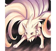 Stand Back :: Ninetails Photographic Print