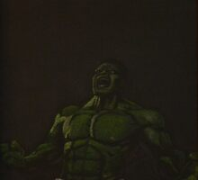 The Incredible Hulk by Will Dudley