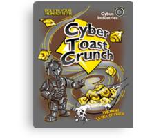 Cyber Toast Crunch Canvas Print
