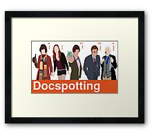 Docspotting Framed Print