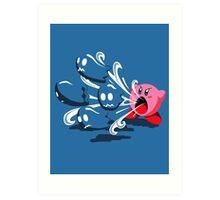 Pacman's Day Off Art Print