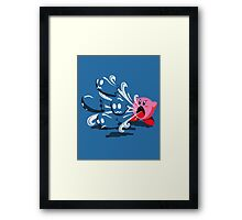Pacman's Day Off Framed Print